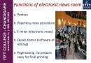 Functions of Newsroom