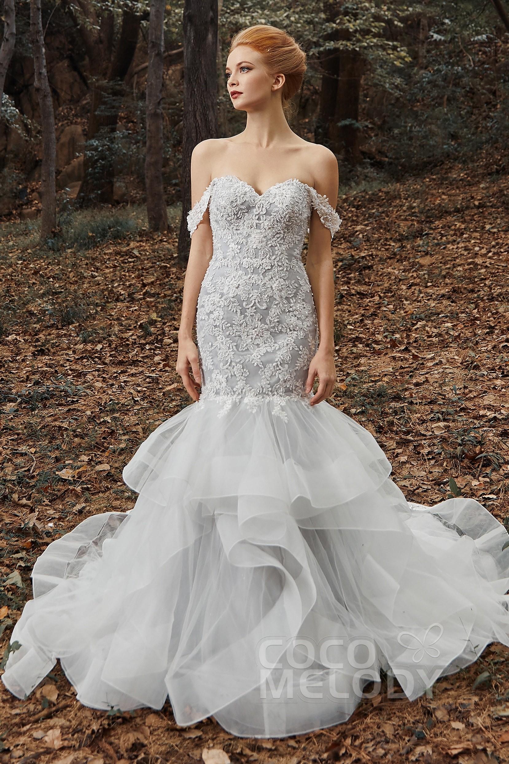 Trumpet wedding gowns