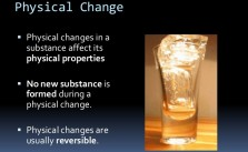 What is Physical Change?