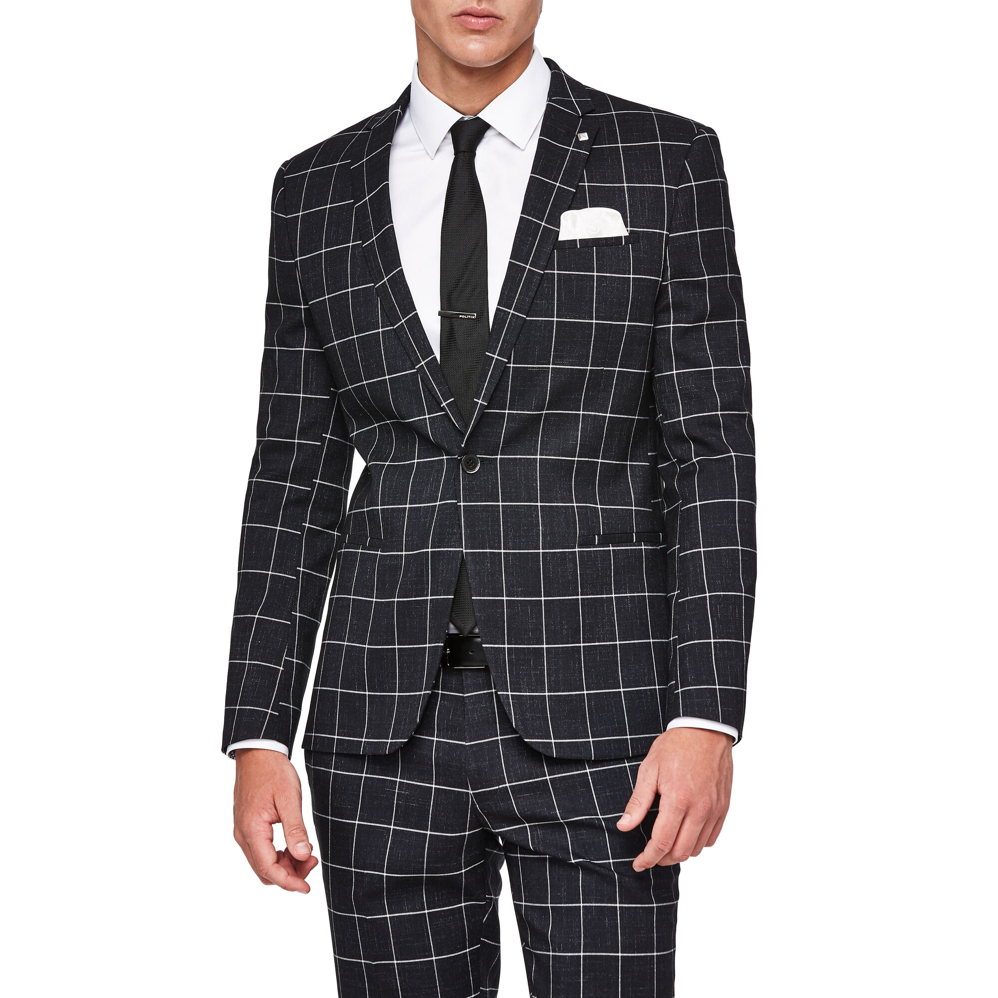 wedding suit 2021 Bold check dark coloured suits