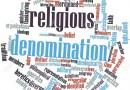 DENOMINATION AND RELIGION