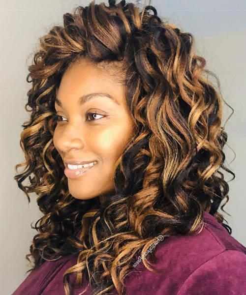 CROTCHET Female Hairstyle