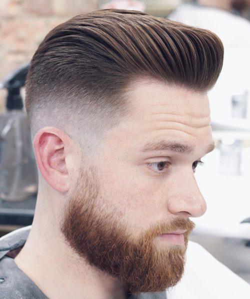 Pompadour Men hairstyle