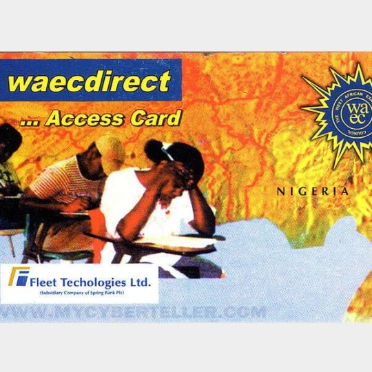 WAEC Result Checker PIN Online