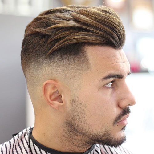 fade Men hairstyle