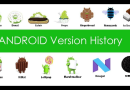 Origin of Android OS Versions