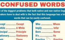 Misused English Terms
