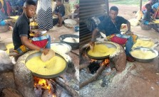 How to process cassava