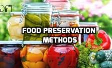 Methods of preserving food
